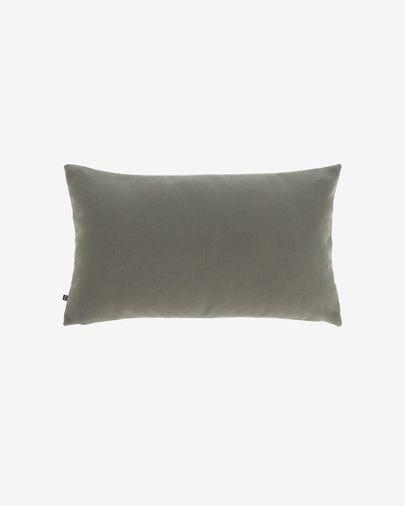 Housse de coussin Nedra 30 x 50 cm gris