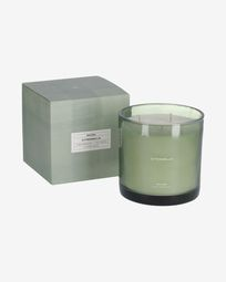 Citronella scented candle in green 750 g