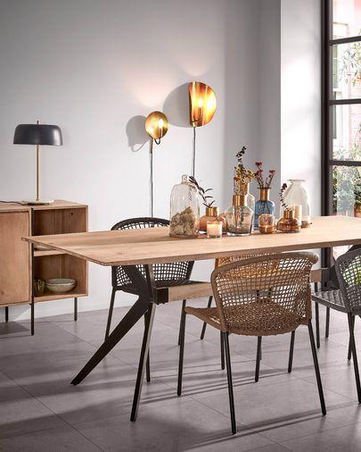 Amethyst Tisch, gebleicht 160 x 90 cm