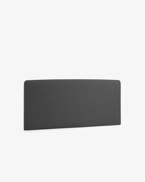Tête de lit Dyla 168x76 cm graphite