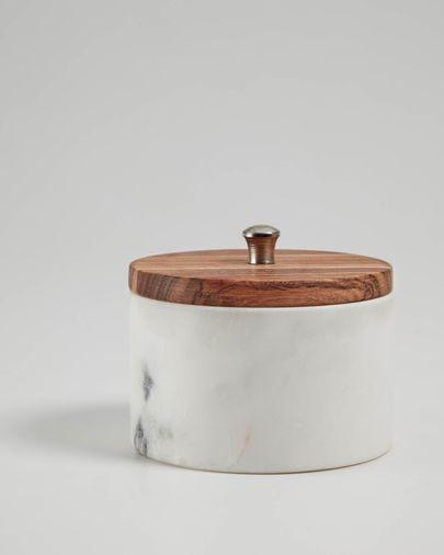 Karla white small jar