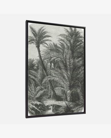 Quadro Bamidele 60 x 90 cm palmeiras