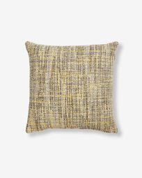 Boho cushion cover 45 x 45 cm mustard
