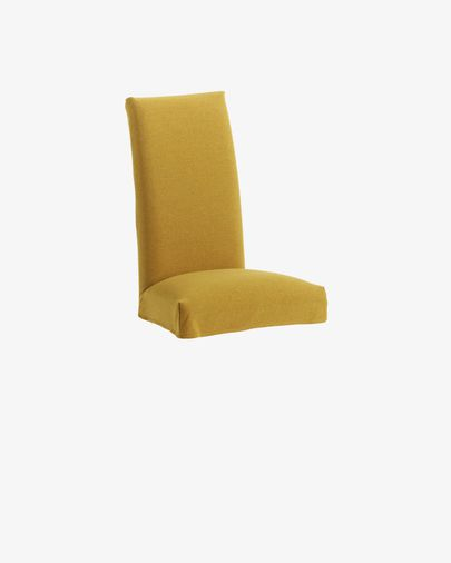 Housse de chaise Freda moutarde