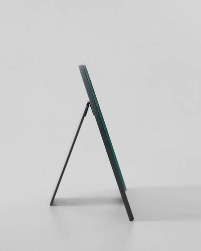 Mica spiegel grijs 23 X 16 cm