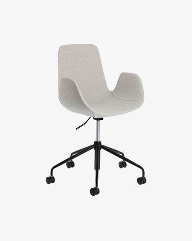 Cadira d'escriptori Yolanda gris clar