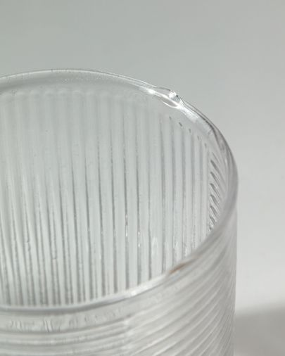 Vaso  Keili de cristal transparente