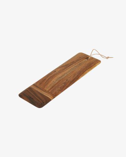 Tabla de servir alargada Ronli madera maciza acacia