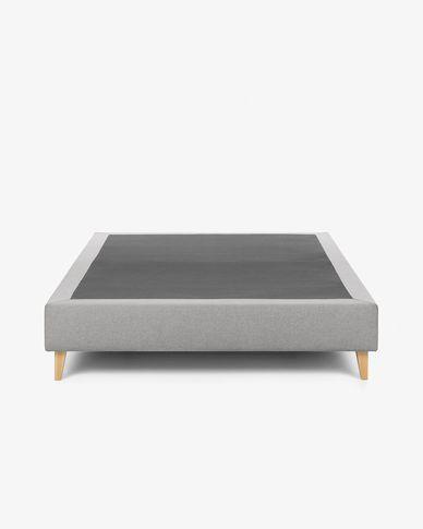 Base alta Nikos gris 180 x 200 cm