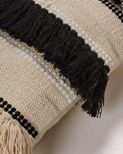 Frinn cushion cover 45 x 45 cm black