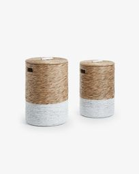 Mast set of 2 laundry baskets