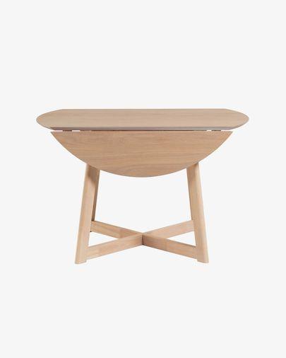 Extendable Maryse 70 (120) x 75 cm table in an oak finish
