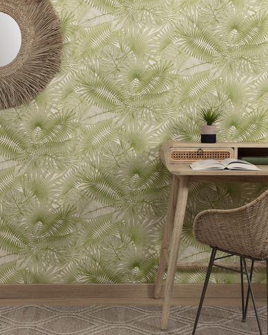 Behang Tropic groen 10 x 0,53 m FSC MIX Credit