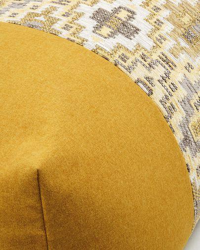 Pouf Nazca 70 x 70 cm senape