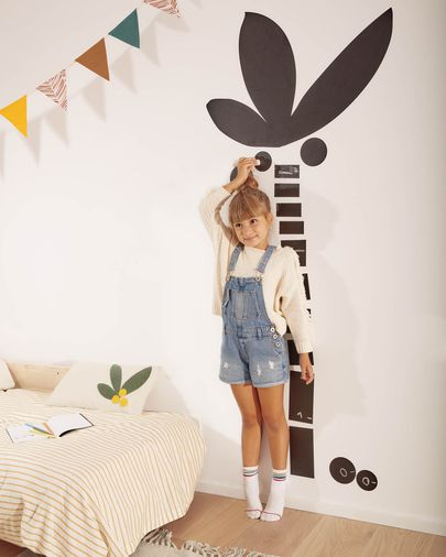 Vinilo de pizarra para pared Uriana con estampado de palmera 160 x 80 cm