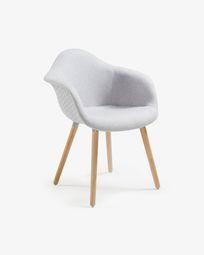 Cadira Kevya gris clar