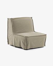 Lyanna sofa bed 90 cm beige
