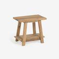 Wooden footrests