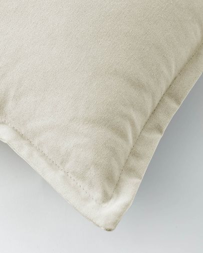 Funda cojín Lisette 30 x 50 cm blanco