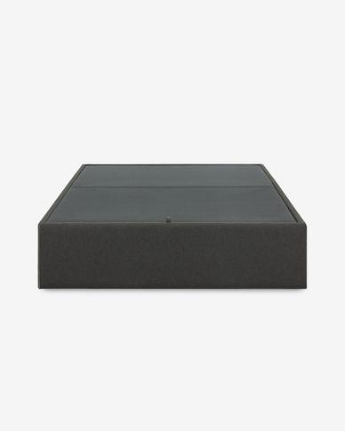 Storage bed base Matters 160 x 200 cm graphite