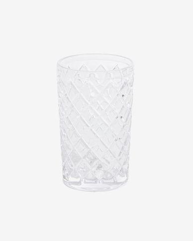 Morley large transparent glass