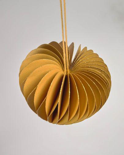 Set Uriel de 3 adorns penjolls decoratius groc