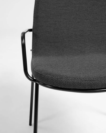 Chair Giuilia dark grey