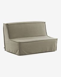Sofà llit Lyanna 140 cm beix