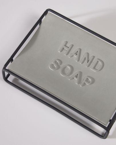 Jainen black soap dish
