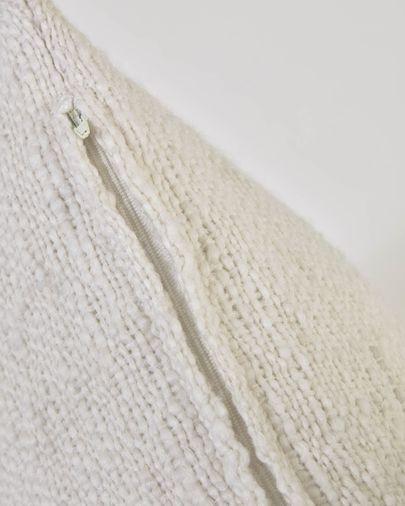 Funda cojín Beva blanco 45 x 45 cm
