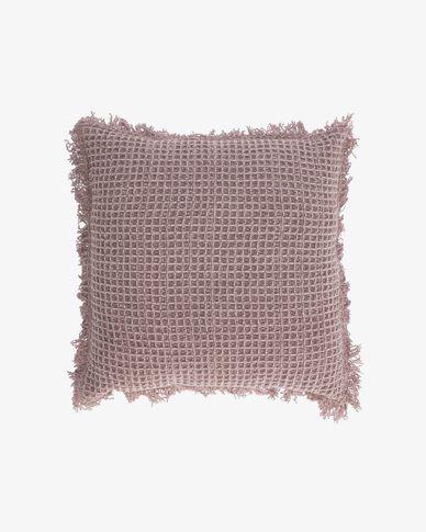 Shallow roze kussensloop 45 x 45 cm