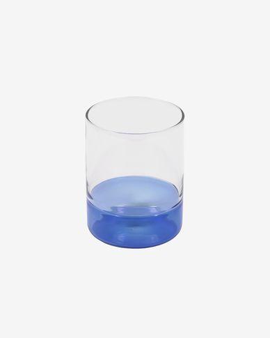 Dorana transparent and blue glass