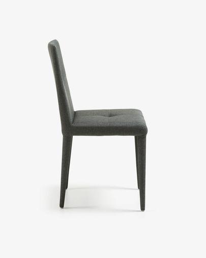 Cadeira Cust cinza escuro