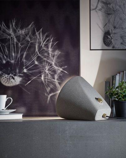 Lámpara de mesa Arilia de cemento 28 cm