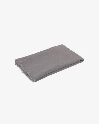 Plaid Clarice 70 x 100 cm gris