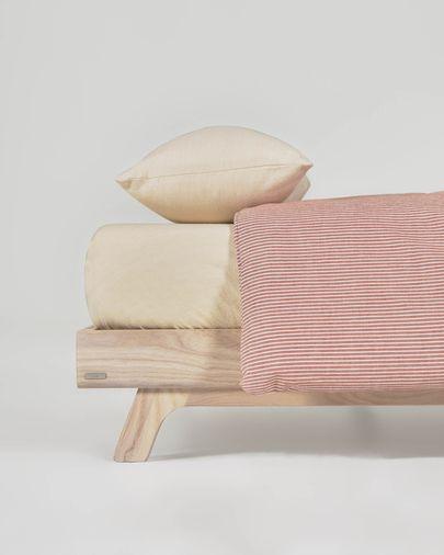 Set Giorgii funda nórdica, bajera y funda almohada 100% algodón GOTS 60 x 120 cm