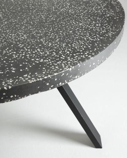 Shanelle black table Ø 120 cm