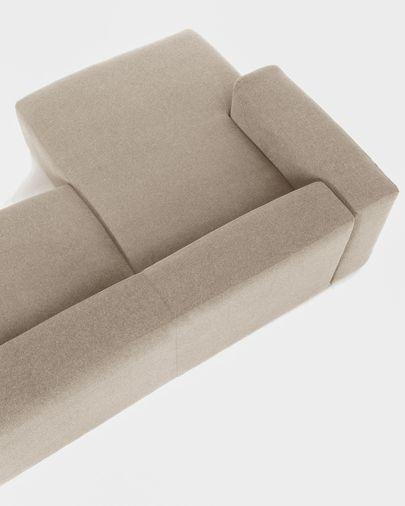 Sofà Blok 3 places chaise longue esquerre beix 300 cm