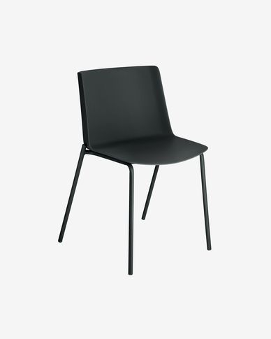 Cadira Hannia negre