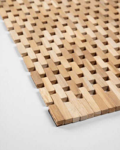 Set Azalea de 2 individuals de fusta massissa d'acàcia