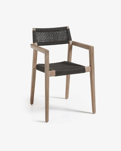 Dark grey Vetter chair