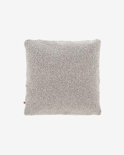 Fodera per cuscino Vicki grigio 45 x 45 cm