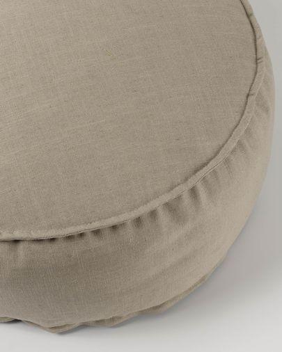Puf Maelina Ø 70 cm beige