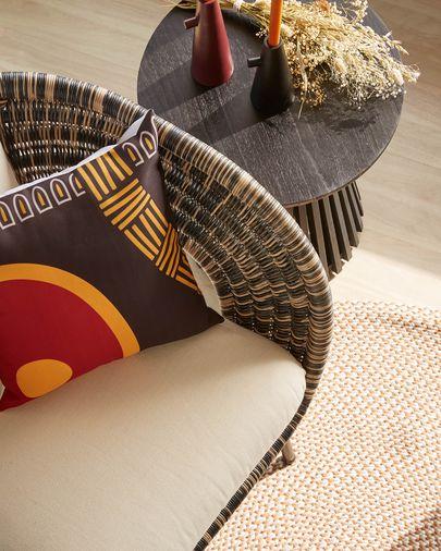 Marietou red 45 x 45 cm cushion cover