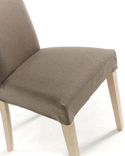 Freda chair cover brown