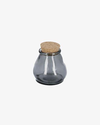 Barattolo Rohan piccolo blu in vetro 100% riciclato