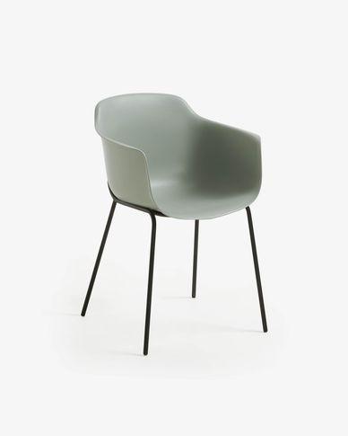Sedia Khasumi grigio