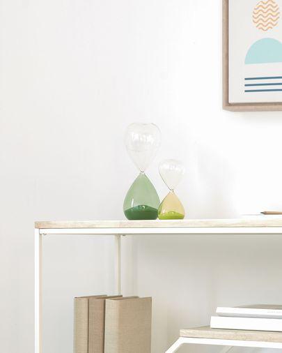 Breshna grüne Sanduhr 14 cm