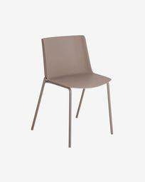 Cadeira Hannia castanho