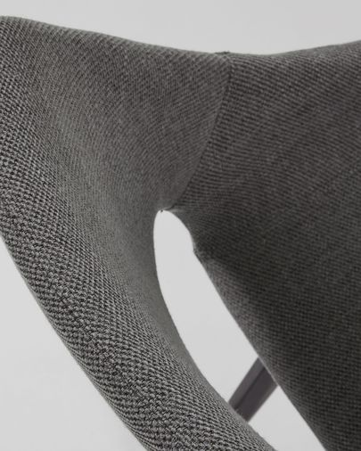 Dark grey Hest chair